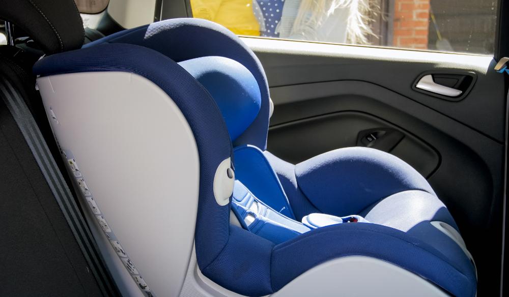 set up the car seat